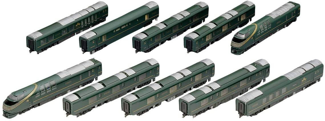 Nゲージ 97912 限定 87系 TWILIGHT EXPRESS 瑞風 10両 鉄道模型 ディーゼルカー