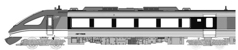 智頭急行HOT7000系特急「スーパーはくと」5次車6両セット A2051