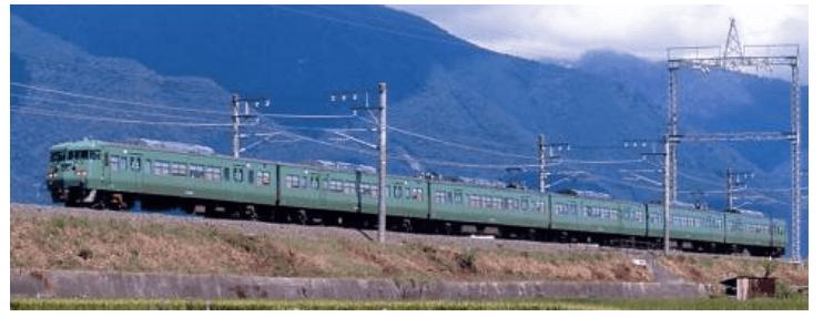 117系-300・京都地域色・ 抹茶色 タイプ 6両セット A7783