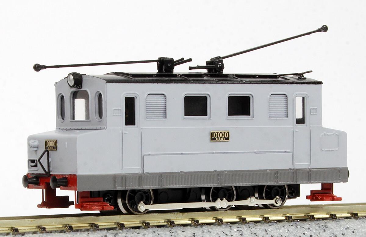Nゲージ 鉄道院 10000形 (EC40形) 電気機関車 III 灰色仕様 塗装済完成品 リニューアル品 発売予定